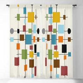 Mid-Century Modern Art 1.3 Blackout Curtain