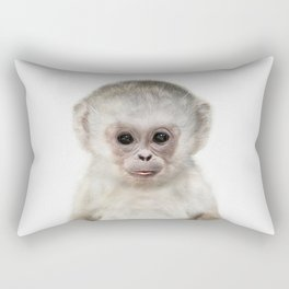 Baby Monkey Rectangular Pillow