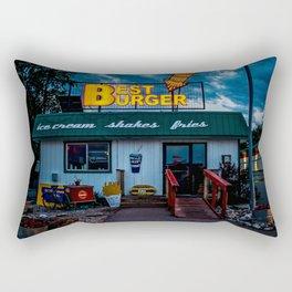 Best Burger Rectangular Pillow