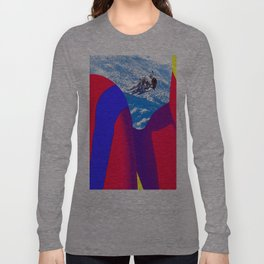 Space Woman Long Sleeve T-shirt