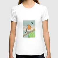 robin T-shirts featuring Robin by Carl Conway