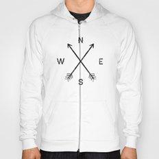 Compass (White) Hoody