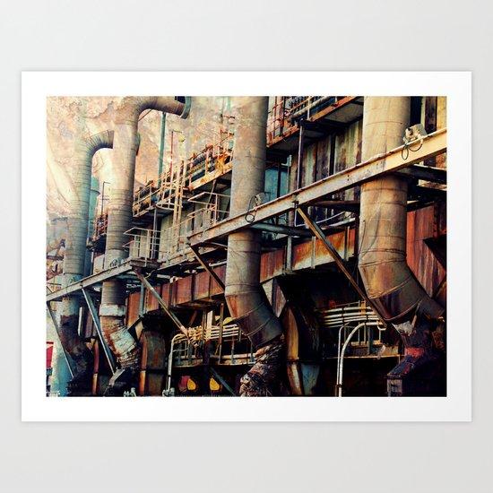 Pipe Dreams II  Art Print