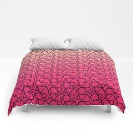 Loves Crazy Sometimes Comforters