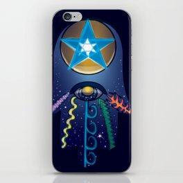 The Elemental Hamsa iPhone Skin