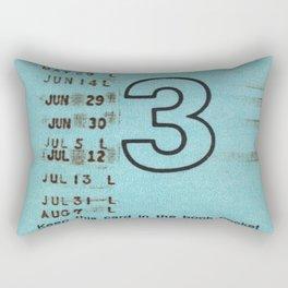 Ilium Public Library Card No. 3 Rectangular Pillow