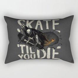 Skate Til' You Die Rectangular Pillow