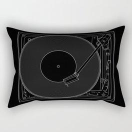 Turntable Rectangular Pillow