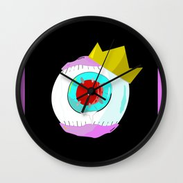 Red Eye Eyeball King Wall Clock