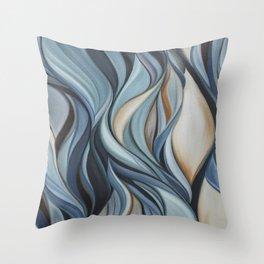Sinuous Series Throw Pillow