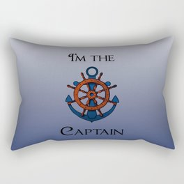 I'm the Captain Rectangular Pillow