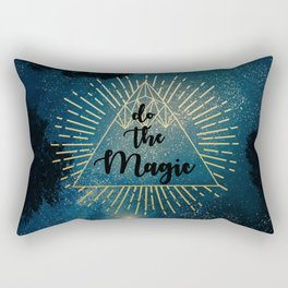 Do the Magic (Night Sky) Rectangular Pillow