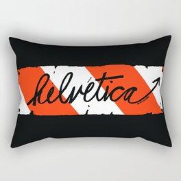 Helvetica Street Cred Rectangular Pillow