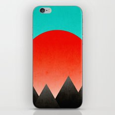 Blood Orange Sunset iPhone & iPod Skin