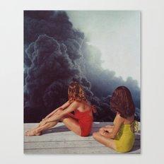 SUNBATHING Canvas Print