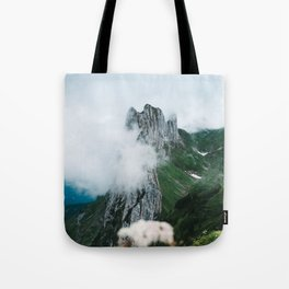 Flower Mountain in Switzerland - Landscape Photography Tote Bag