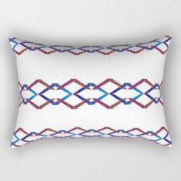 Simple Diamond Stripes Rectangular Pillow