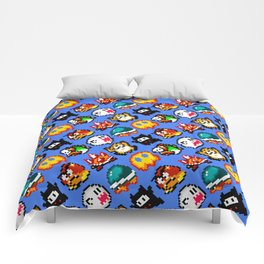Super Mario World | Enemies Pattern Comforters