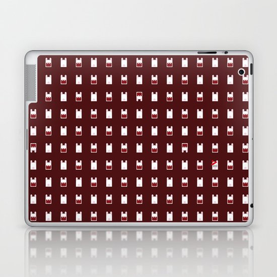 Famous Capsules - Raving Rabbids Laptop & iPad Skin