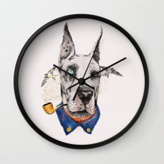 Mr. Great Dane Wall Clock