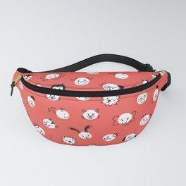 Children Animal Polka Dots Red Fanny Pack