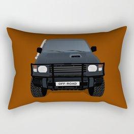 Let's Off - Road! Rectangular Pillow