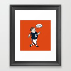 Cutler: Haters Gonna Hate Framed Art Print
