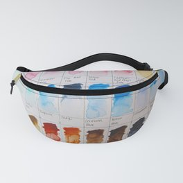 Watercolor Swatches Fanny Pack