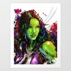 She-Hulk Art Print