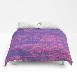 purple stone Comforters