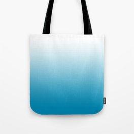 Ombre Hawaiian Ocean Gradient Motif Tote Bag