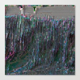 perfectly corrupted Canvas Print