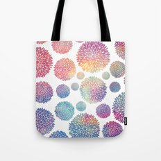 Watercolor Flowers Tote Bag