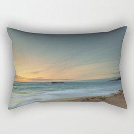 Sandwood Bay at Sunset Rectangular Pillow