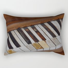 Aged Ivories Rectangular Pillow