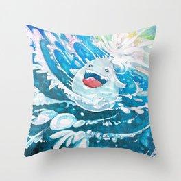 ˹Plum the Droplet˼ Throw Pillow