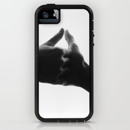 thumb war iPhone Case