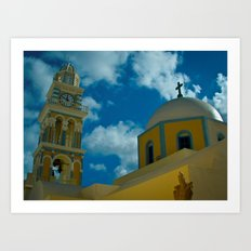 Church Tower Art Print