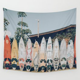 lets surf xv Wall Tapestry