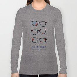 Slapshot - Old Time Hockey Long Sleeve T-shirt