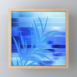 Silky Night Framed Mini Art Print