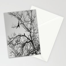 two crows Stationery Cards