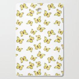 Monarch Butterfly - Yellow Cutting Board