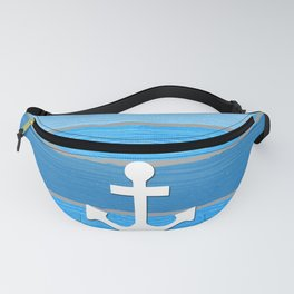 Nautical themed design Fanny Pack