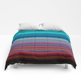 Blurry Saturn Stripes Comforters