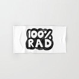 100 % RAD - Bubble Hand & Bath Towel