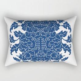 WanShouWen Rectangular Pillow