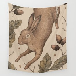 The Hare and Oak Wall Tapestry