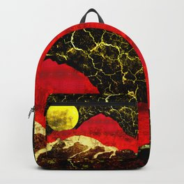 Storm on Red Mountain Backpack