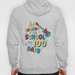 100 Days of School for Kindergarten Elementary Kids Light Hoody